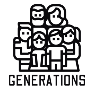 generations logo black