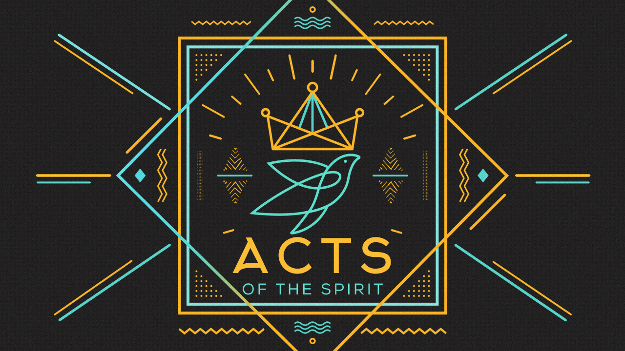 Acts of the Spirit Title Graphic